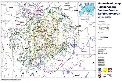 Karte Baden Württemberg Rheinland Pfalz.Lgb Rlp De Makroseismik Rambervillers