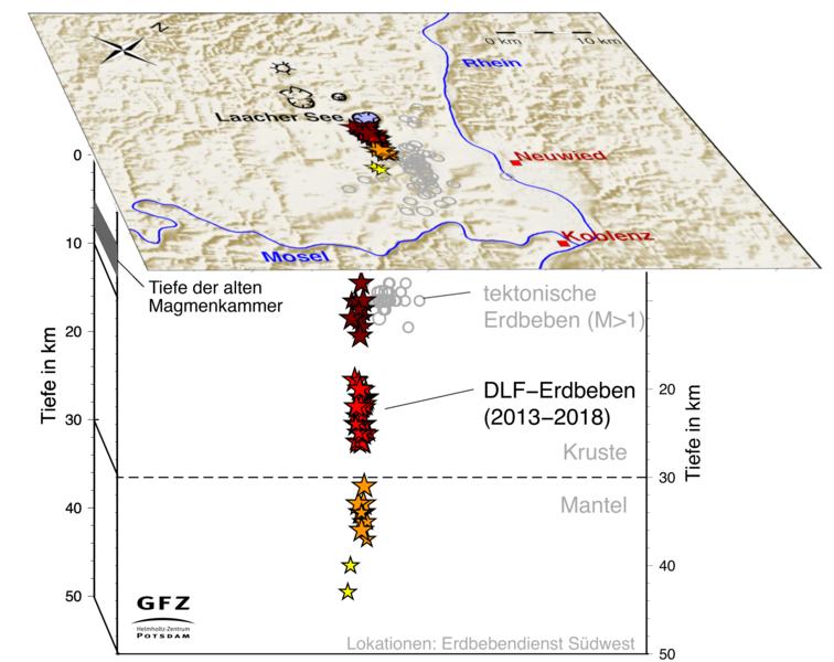 Erdbeben Deutschland Karte.Ungewohnlich Tiefe Erdbeben Geben Hinweise Auf Bewegungen